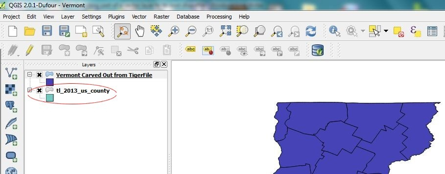 QGIS Tutorial 2: Exporting part of a vector layer to its own